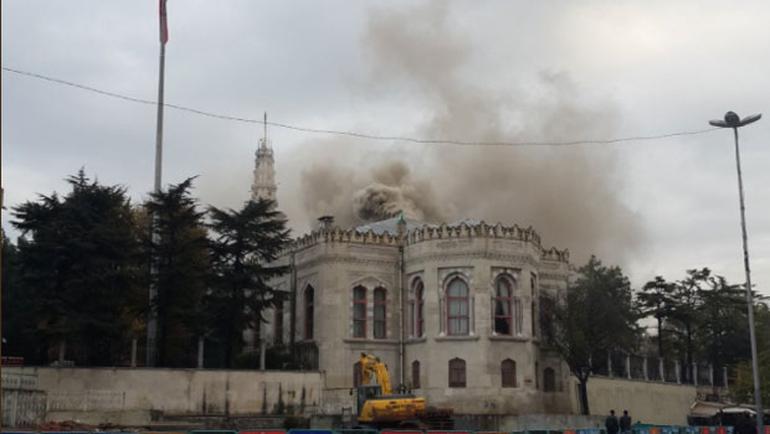 istanbul üniversitesi yangın