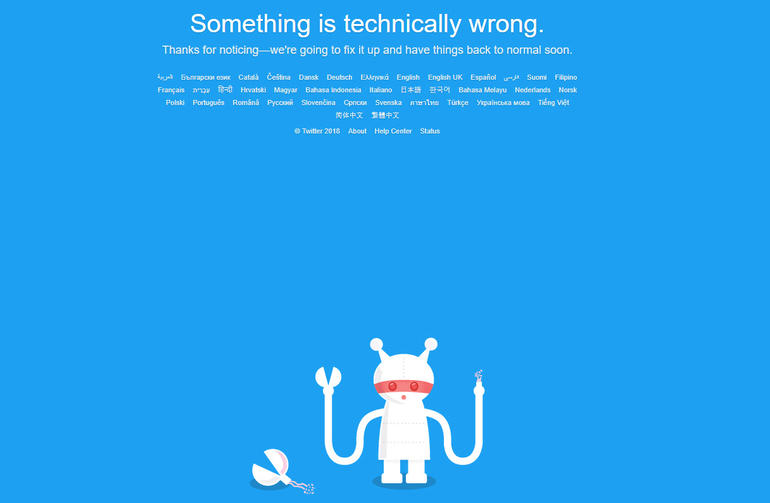 twitter hata ekran