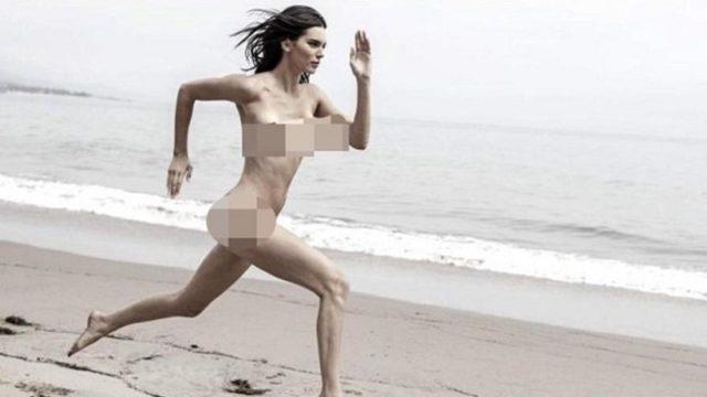 kendall jenner çıplak fotoğraf