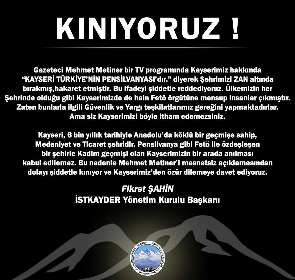 İstanbul Kayseri İli ve İlçeleri Yardımlaşma ve Dayanışma Derneği (İSTKAYDER)