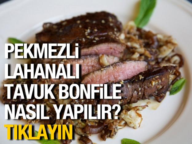 Pekmezli Lahanalı Tavuk Bonfile nasıl yapılır?