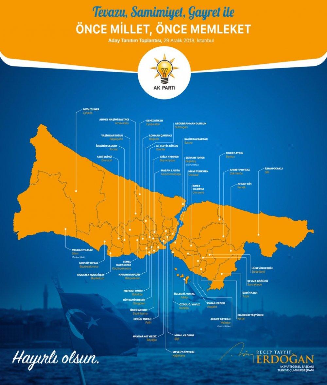 ak parti istanbul adayları