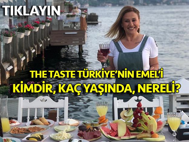 the taste türkiye emel karaca kimdir