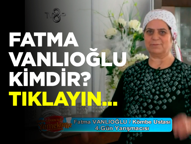 yemekteyiz fatma vanlıoğlu