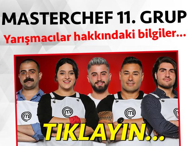 masterchef türkiye 11. grup yarışmacı adayları