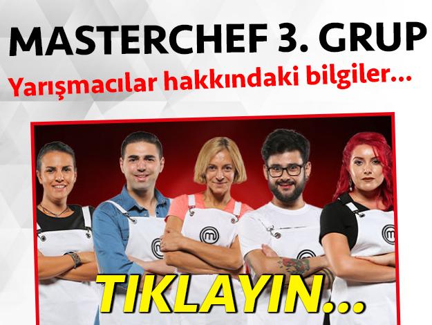 masterchef türkiye 2. sezon 3. grup yarışmacı adayları