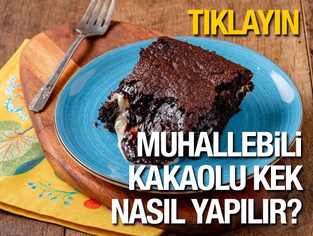 Gelinim Mutfakta Muhallebili Kakaolu Kek nasıl yapılır?