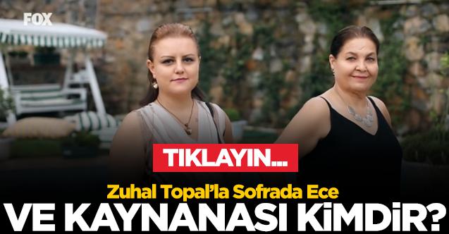 ZUHAL TOPAL'LA SOFRADA YARIŞMACISI ECE GÖREN