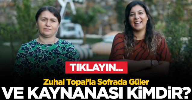 ZUHAL TOPAL'LA SOFRADA YARIŞMACISI GÜLER BOYACI BACAKSIZ