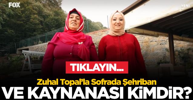 ZUHAL TOPAL'LA SOFRADA YARIŞMACISI ŞEHRİBAN KESKİN