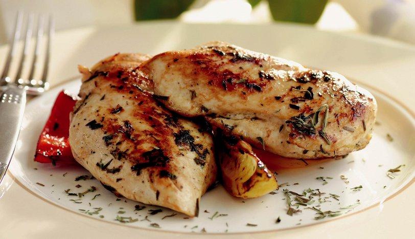 acılı tavuk bonfile