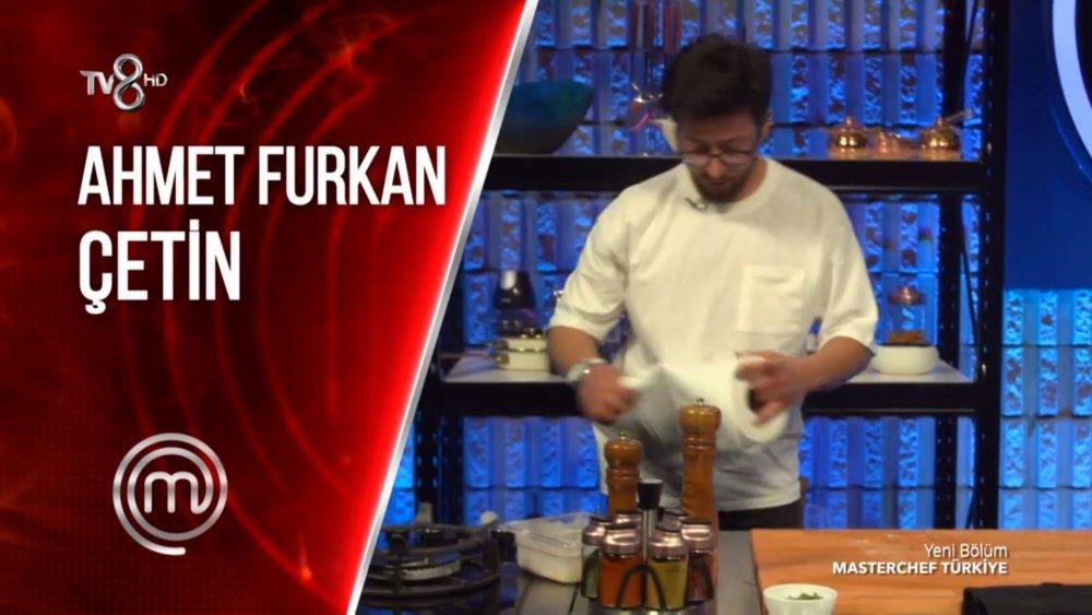 Masterchef Ahmet Furkan Çetin