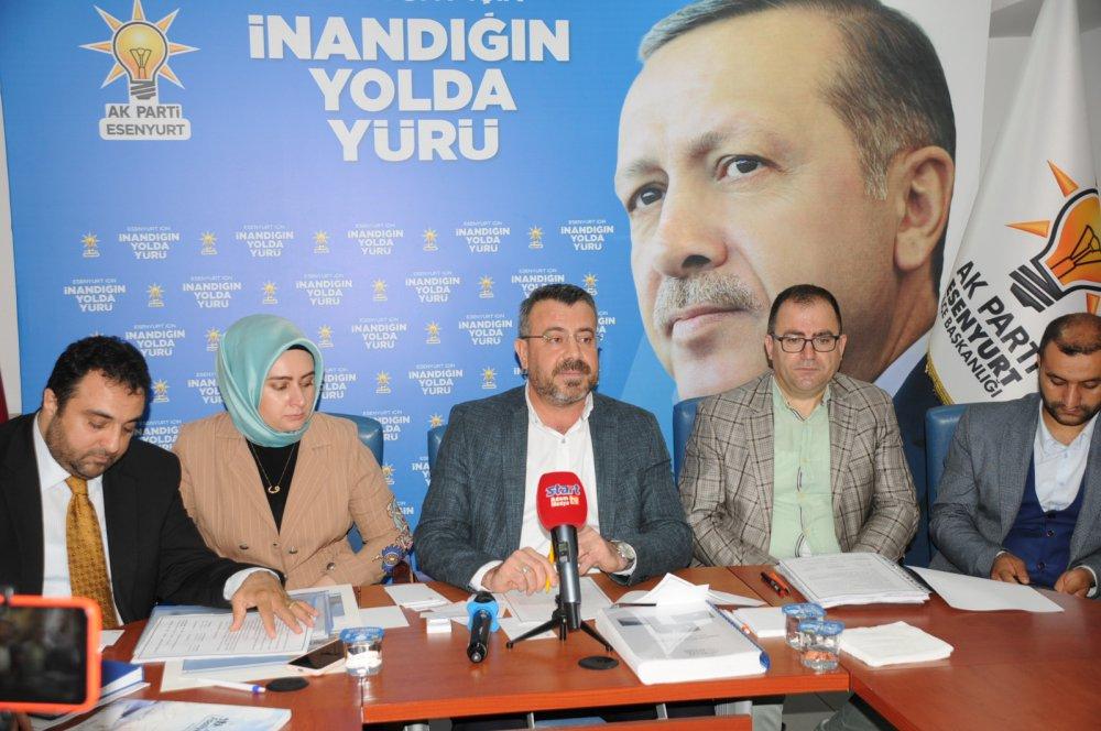 Ak Parti Esenyurt İlçe Başkanı Harun Özer