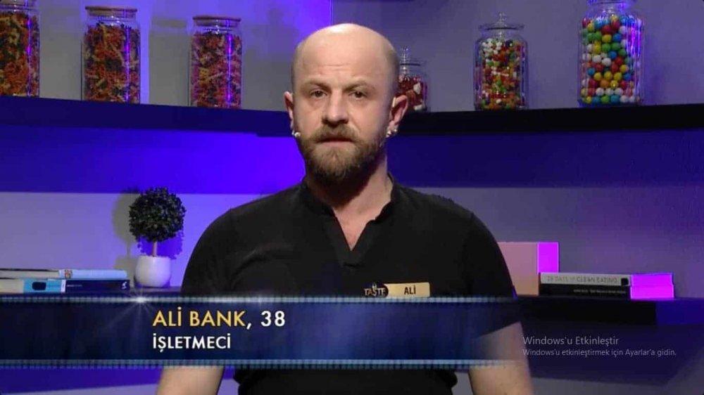 ali bank the taste Türkiye