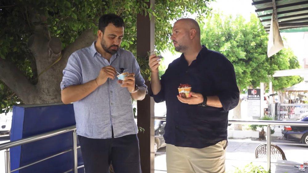 ayaküstü lezzetleri bodrum turgutrreis doğal dondurma