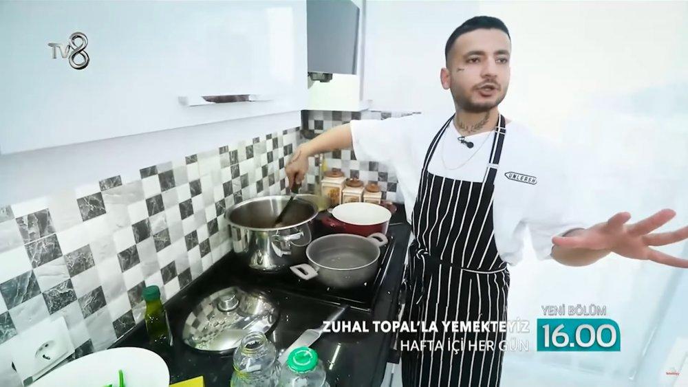 Zuhal Topal'la Yemekteyiz Muhammet Berfu Savaş