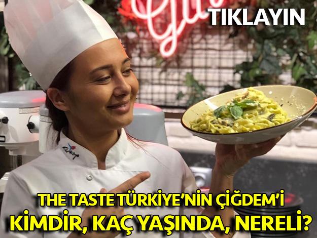 çiğdem kaya the taste türkiye