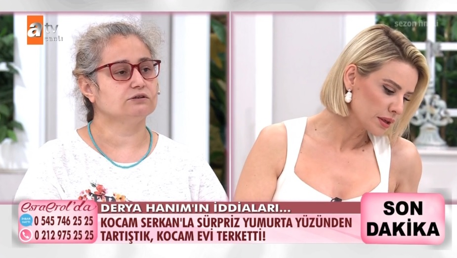 Esra Erol'da Derya Cengiz