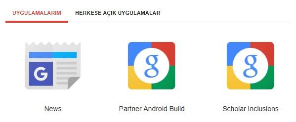 google news başvuru
