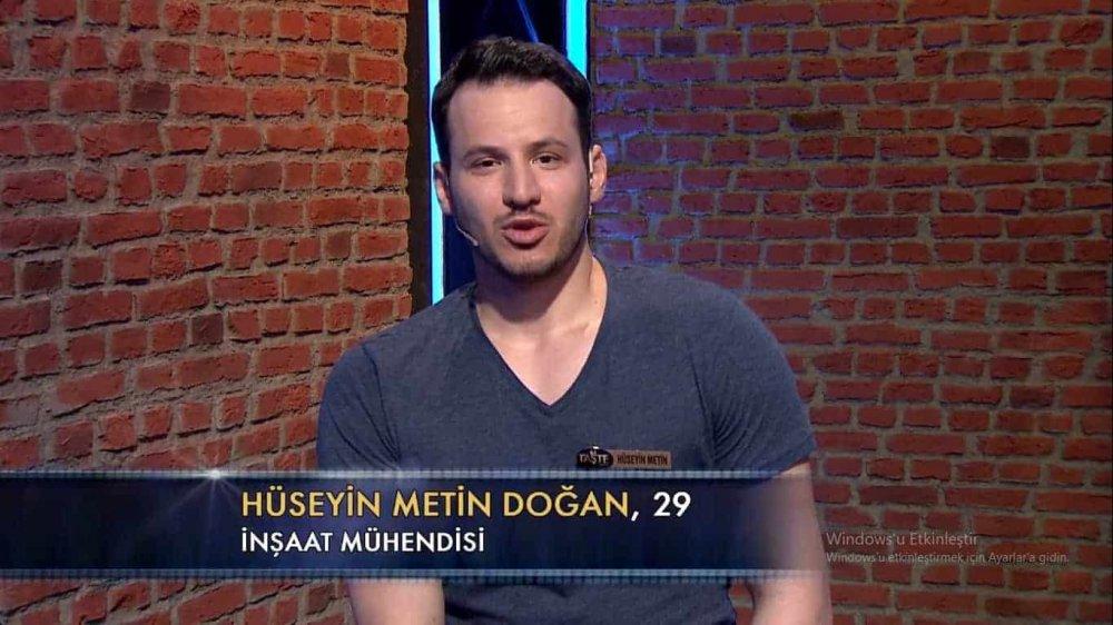 Hüseyin Metin Doğan the taste türkiye
