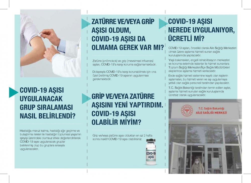 Sağlık bakanlığı aşı