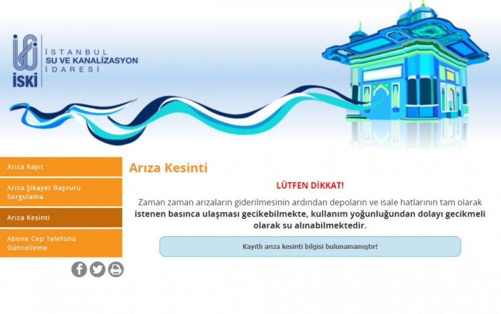istanbul'da sular ne zaman gelecek