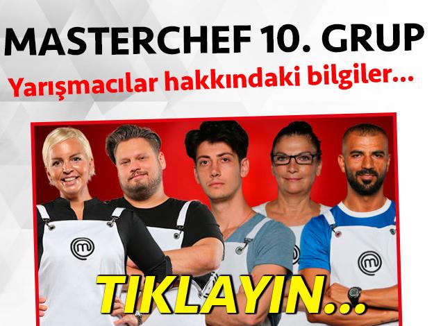 masterchef 2. sezon 9. grup yarışmacı adayları