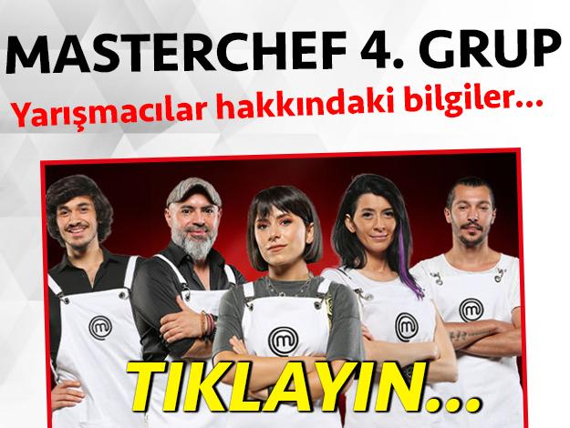 masterchef 2. sezon 4. grup yarışmacı adayları