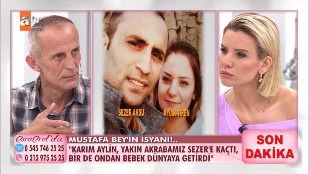 ATV Esra Erol'da Mustafa Tiren kimdir? Karısı Aylin Tiren akrabası Sezer Aksu'ya kaçtı