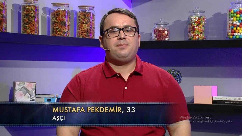 mustafa pekdemir the taste türkiye