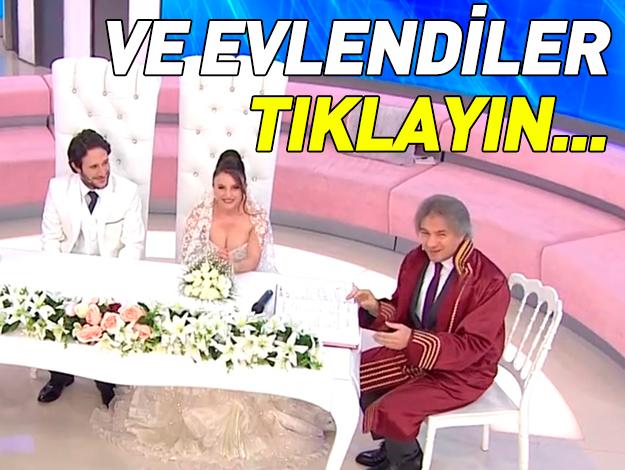 müge anlı aydoğan avcı nazmiye yayla evlilik töreni
