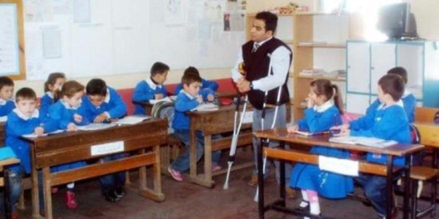 engelli öğretmen