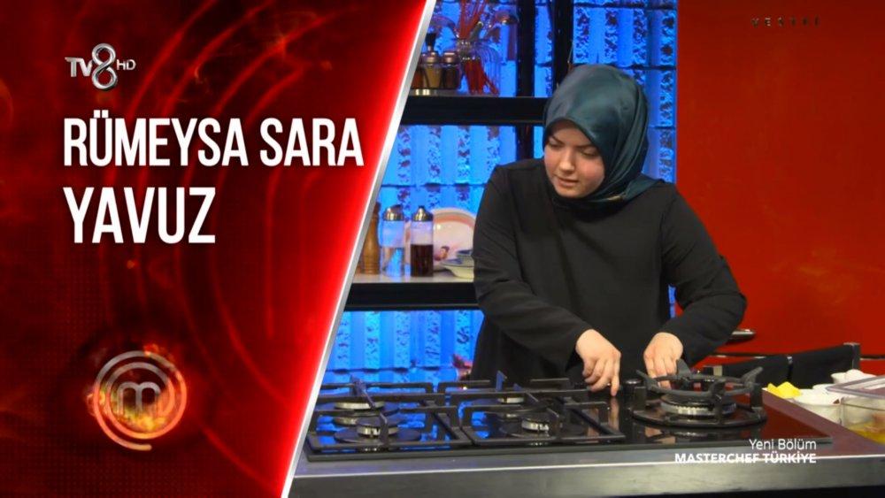 Masterchef Rümeysa Sara Yavuz