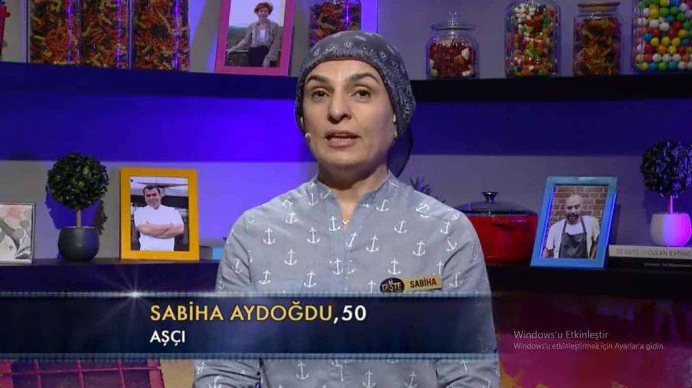 the taste türkiye sabiha aydoğdu
