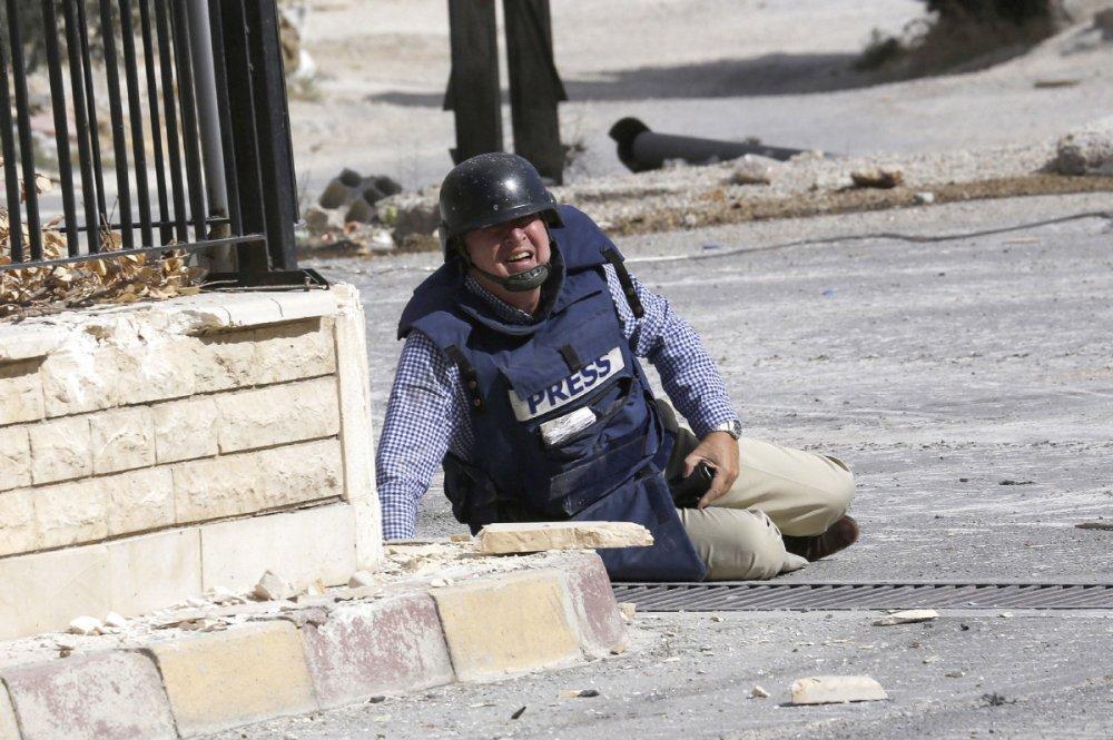 savaş muhabiri