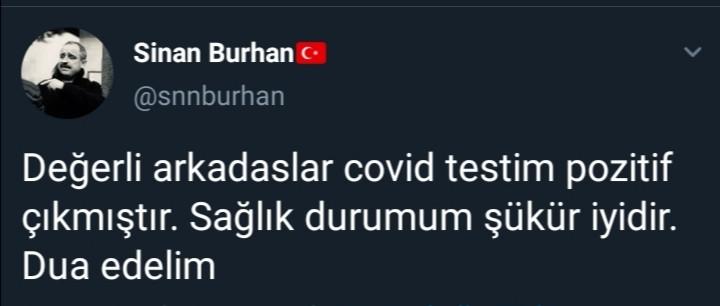 AYD Başkanı Sinan Burhan