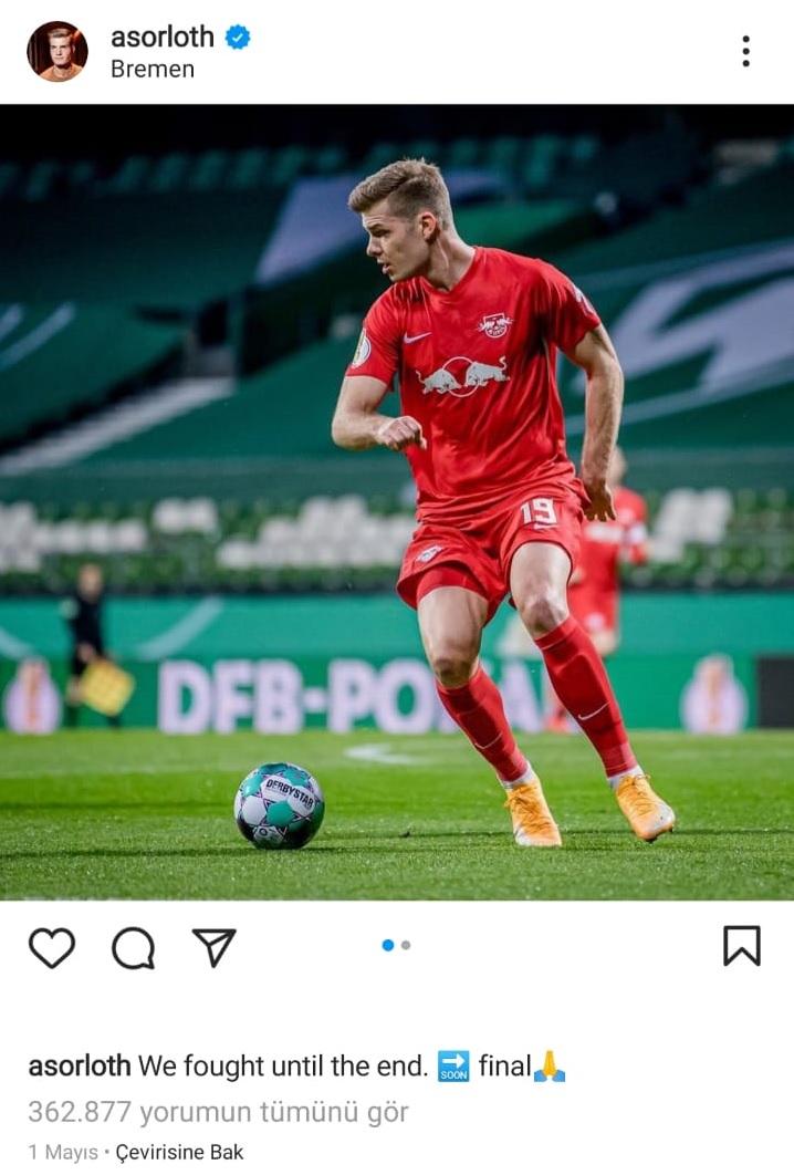 alexander sörloth instagram