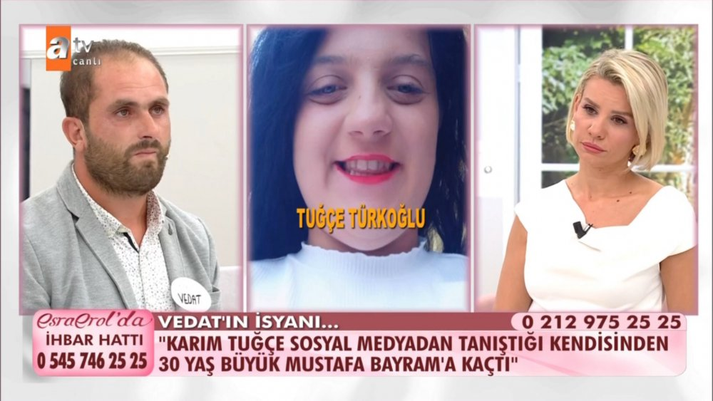 Esra Erol'da Vedat Türkoğlu