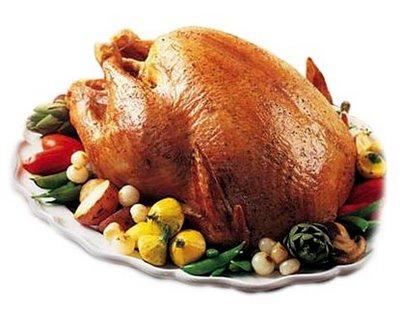 fırın tavuk veya hindi