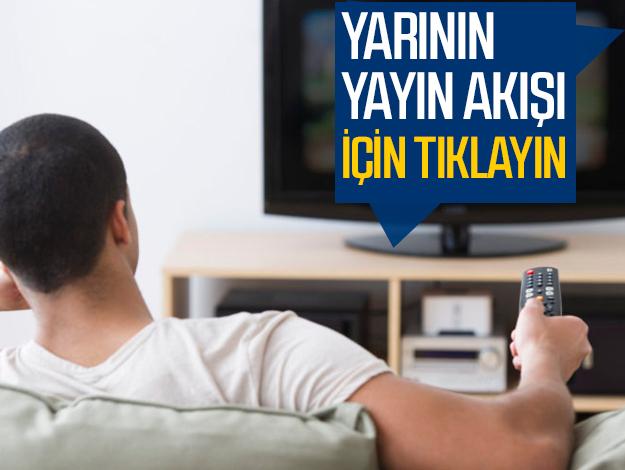 Atv, Kanal D, FOX Tv, TV8, TRT1, Kanal 7, Show Tv, Star Tv yayın akışı
