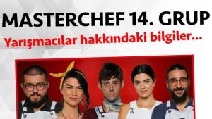Masterchef Türkiye 2. sezon 14. grup yarışmacı adayları