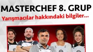 Masterchef Türkiye 2. sezon 8. grup yarışmacı adayları