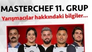 Masterchef Türkiye 2. sezon 11. grup yarışmacı adayları