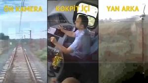 Çorlu'daki faciaya sebep olan tren kazasının görüntüleri ortaya çıktı