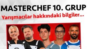 Masterchef Türkiye 2. sezon 10. grup yarışmacı adayları