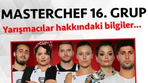 Masterchef Türkiye 2. sezon 16. grup yarışmacı adayları