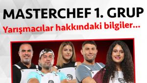 Masterchef 2. sezon 1. grup yarışmacı adayları