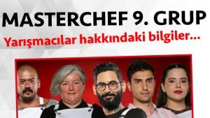 Masterchef Türkiye 2. sezon 9. grup yarışmacı adaylar