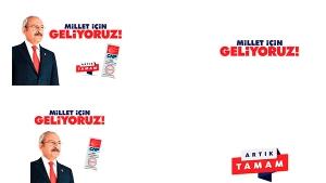 CHP'nin 24 Haziran seçimleri sloganları belli oldu