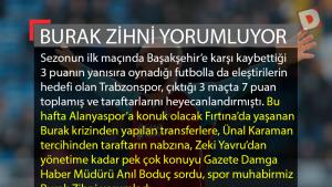 Trabzonspor'un gündemini Burak Zihni yorumladı